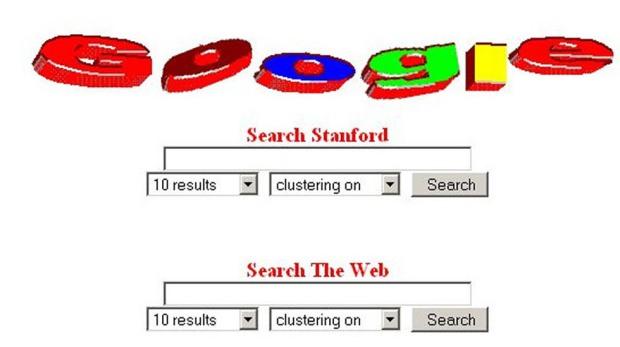 Primera Pantalla de Google