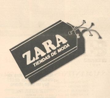 etiqueta Zara