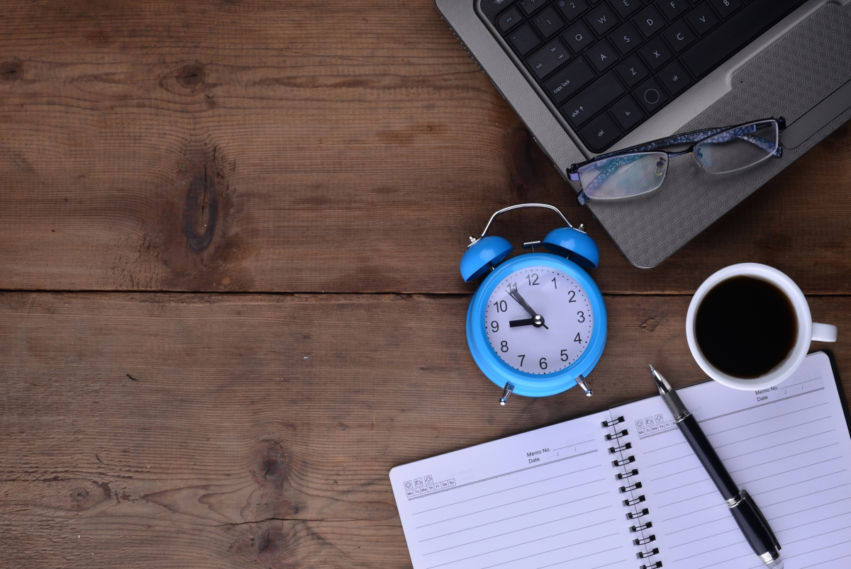 4 consejos para organizar mejor tu tiempo.
